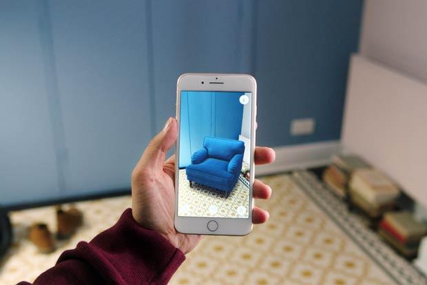 telefono con opcion de realidad aumentada